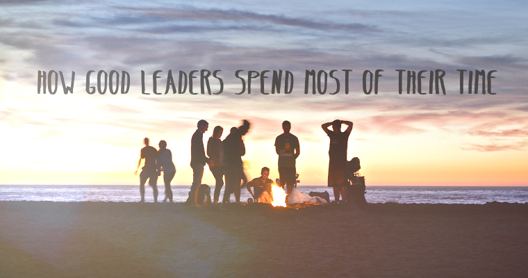 How Good Leaders Spend Most of Their Time