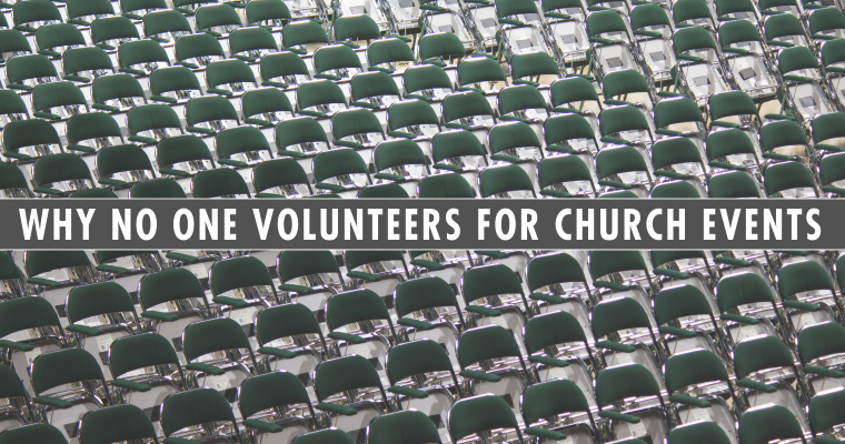 Why No One Signs Up for Church Events