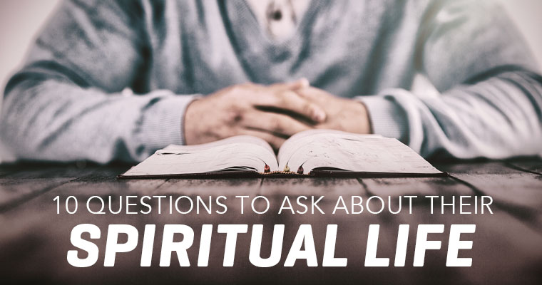 10 Interview Questions for a Minister's Spiritual Life