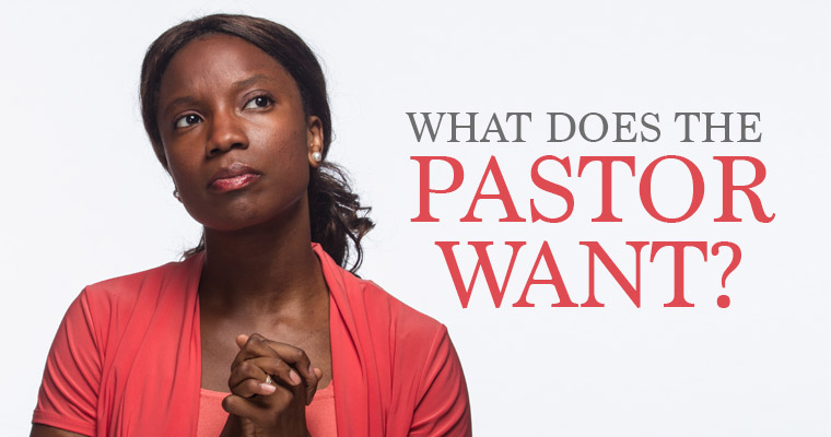 What the Pastor Wants From Staff Members